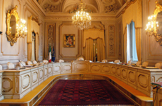 la sala della Corte Costituzionale1